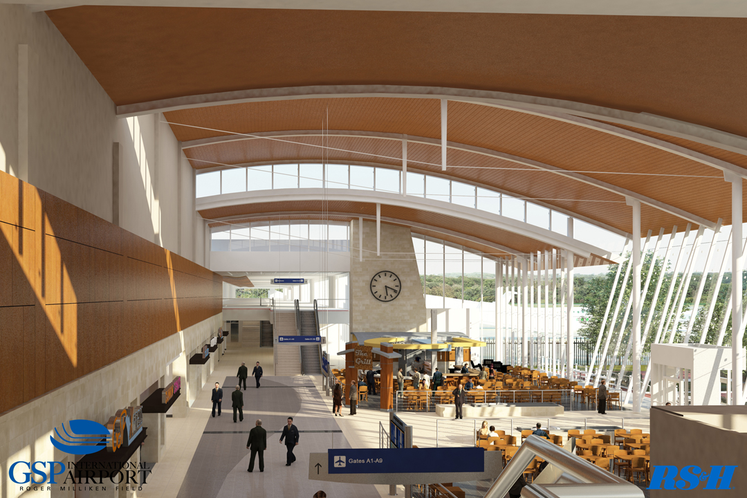 Rendering of new terminal